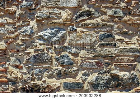 Brown Stone wall can use as backround