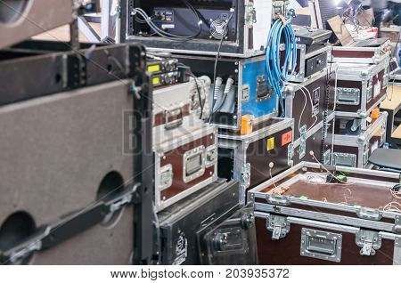 Boxes for the transport of musical instruments