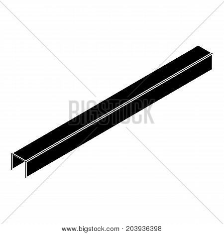 Steal beam icon. Simple illustration of steal beam vector icon for web design isolated on white background