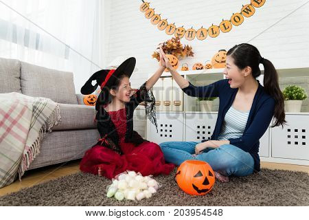 Girl And Her Mother Celebrate She Obtain