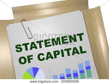 Statement Of Capital Concept