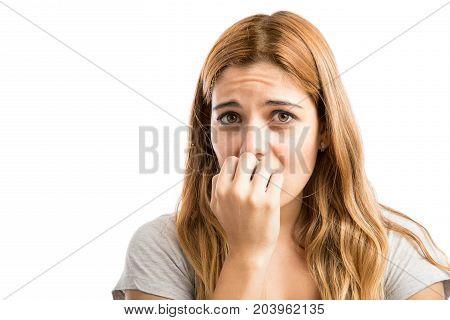 Young Woman Feeling Worried
