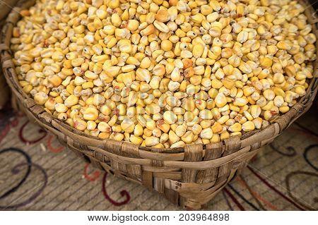 corn is a staple food in latin America
