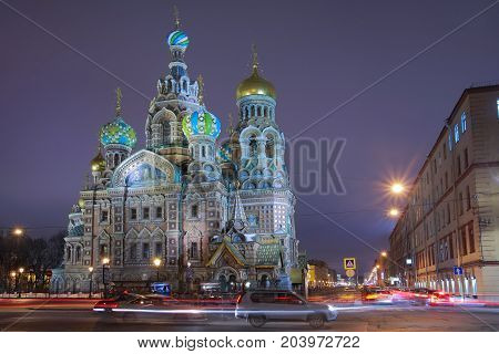 Cathedral of the Resurrection of Christ (Savior on the Blood) it built on the site of the murder of Alexander II