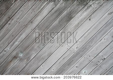 Old wooden gray surface of the boards