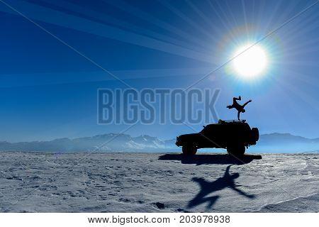 power balance and motivation & winter sport