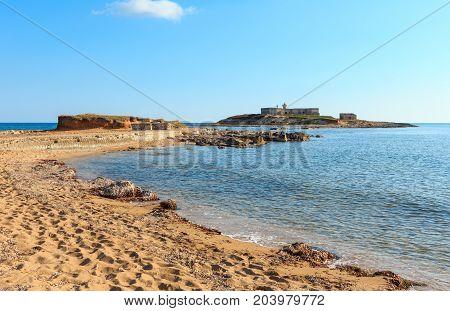 Isola Delle Correnti Capo Passero Beach