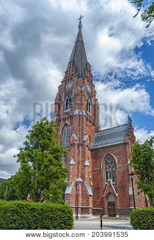 All Saints Church is a church building in Lund Sweden. It was designed by architect Helgo Zettervall in the gothic revival style.