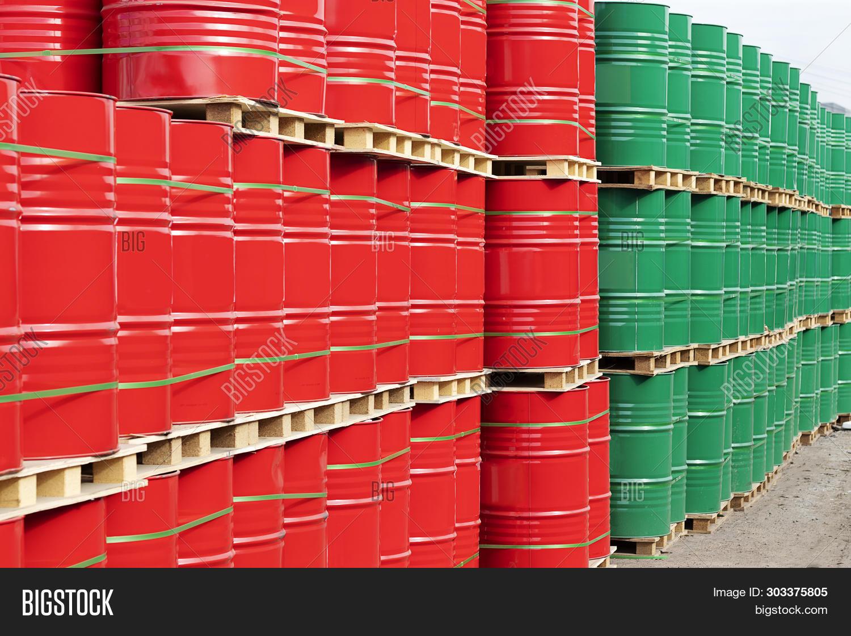 Barrels 200 Liters Image & Photo (Free Trial) | Bigstock