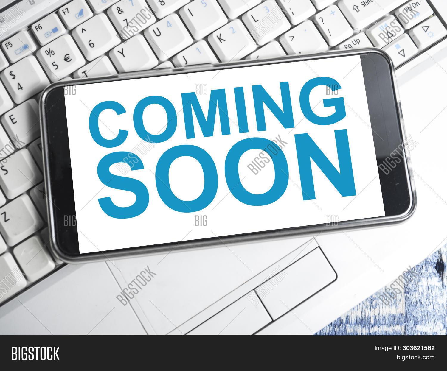 Coming Soon Words Image Photo Free Trial Bigstock