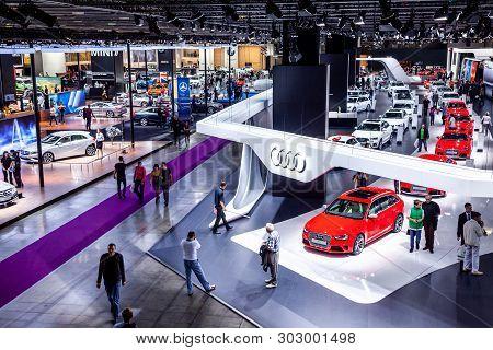 Exhibition Moscow International Automobile Salon Mmas 2018