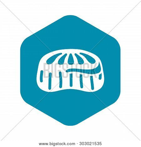 Candy Jelly Icon. Simple Illustration Of Candy Jelly Vector Icon For Web Design Isolated On White Ba