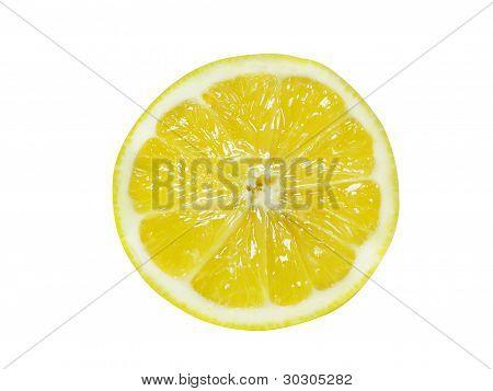 Fresh Half Lemon