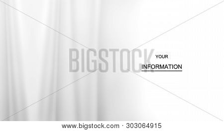 White Fabric Clothing Texture Textile Pattern, Crumpled Fabric Background, Smooth Elegant White Silk