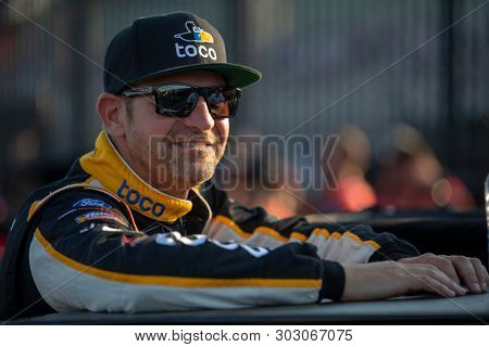 May 17, 2019 - Concord, North Carolina, USA: Clint Bowyer (14) gets ready to qualify for the Monster Energy All-Star Race at Charlotte Motor Speedway in Concord, North Carolina.
