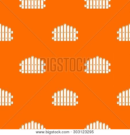 Palisade Pattern Vector Orange For Any Web Design Best