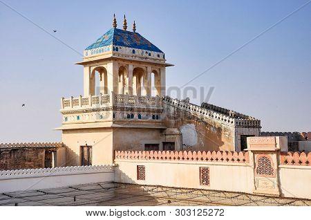 Junagarh Fort At Bikaner, Rajasthan India. Junagarh Fort Was Originally Known As Chintamani And Was