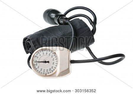 Tonometer Device For Diagnosis To Measure Of Blood Pressure And Pulse Health