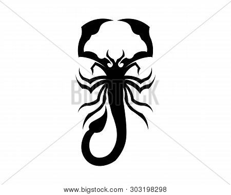 Scorpion Logo Template Vetor Illustration Animal Logo