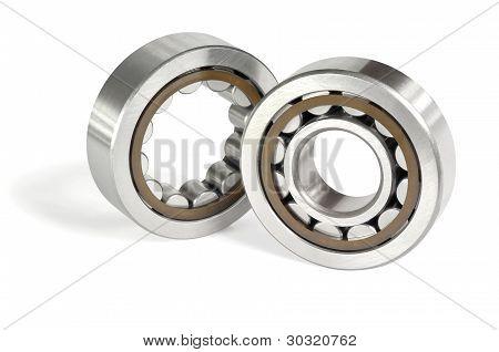 Two Roller Bearings