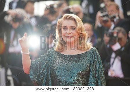 Catherine Deneuve  attends the closing ceremony screening of