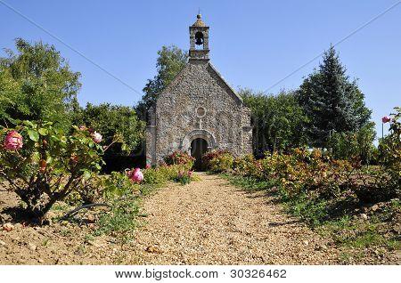 Chapel of Verniette at Conlie in France