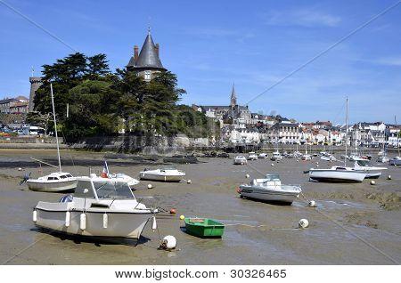 Port of Pornic in France