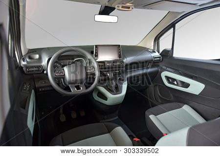 Studio Shot Of The Modern Vanv Interior, Front View