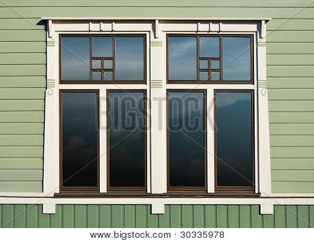 Wooden Home Window