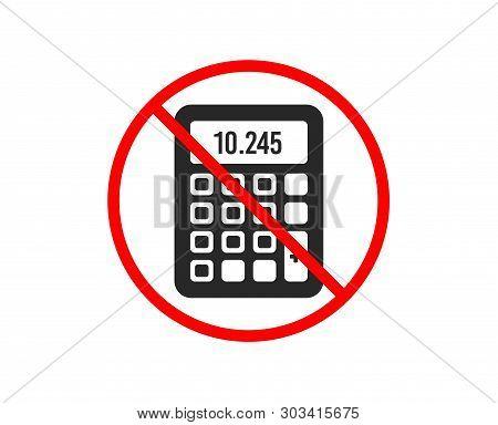 No Stop  Calculator Vector & Photo (Free Trial)   Bigstock