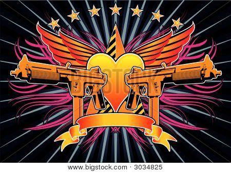 Submachine Gun Insignia