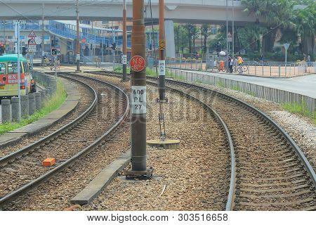 Light Rail Yuen Long 27 April 2014