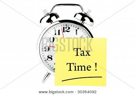 Tax Time On The Clock