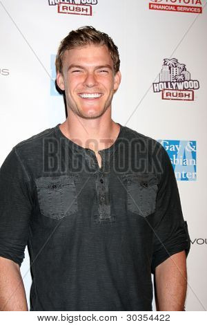 LOS ANGELES - FEB 19:  Alan Ritchson arrives at the 2nd Annual Hollywood Rush at the Wilshire Ebell on February 19, 2012 in Los Angeles, CA.