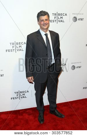 NEW YORK - APR 26: Anthony Bregman attends 'The Circle' screening during the 2017 TriBeCa Film Festival at BMCC Tribeca PAC on April 26, 2017 in New York City.