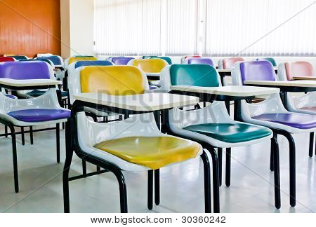 Multi-colored Chairs