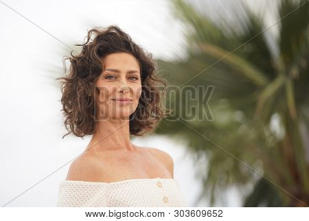 CANNES, FRANCE - MAY 24, 2019: Maria Fernanda Candido attends the photocall for
