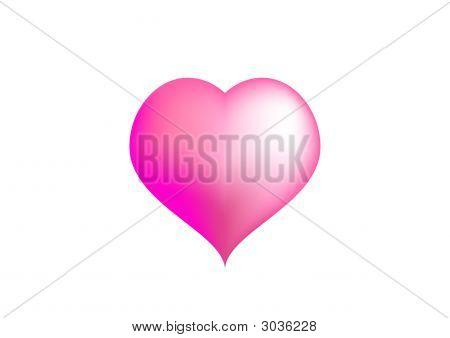 Big Pink Love Heart