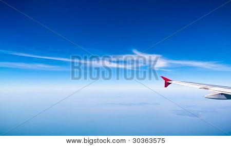 Blue Sky Background Texture