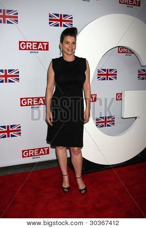 LOS ANGELES - FEB 24:  Julia Ormond arrives at the GREAT British Film Reception at the British Consul General�¢??s Residence on February 24, 2012 in Los Angeles, CA.