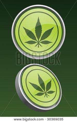 Vector Marijuana Icon