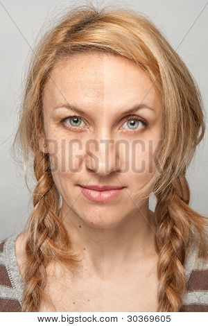 Beauty Retouch, Before And After