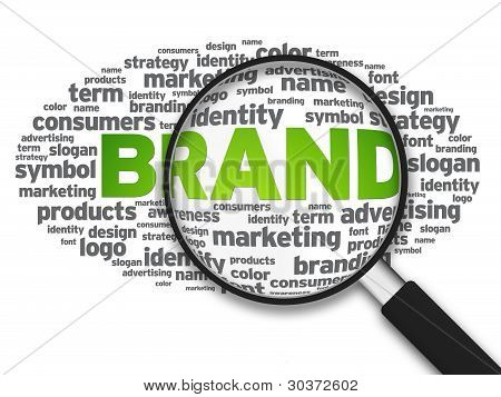 Magnifying Glass - Brand