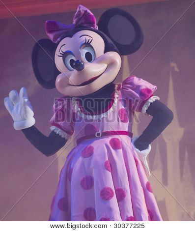 Minnie Mouse At The Disney Princess Show