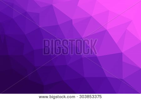 Abstract Polygonal Mosaic Background. Multicolor Low Poly Gradient Background. Crystal Polygon Backg