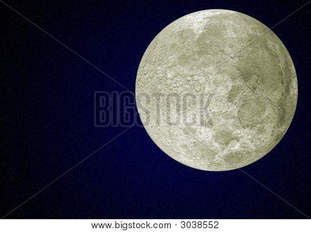 Moon And Sky
