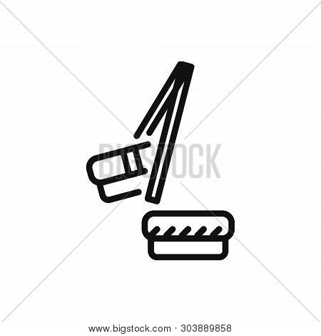 Chopsticks Icon Isolated On White Background. Chopsticks Icon In Trendy Design Style For Web Site An