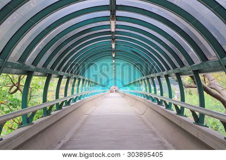 A Perspective View Of Circle Style Flyover