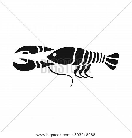 Vector Illustration Of Crayfish  And Lobster Logo. Collection Of Crayfish  And Boiled Stock Vector I
