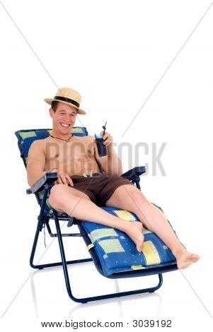 Body Builder, Beach Chair